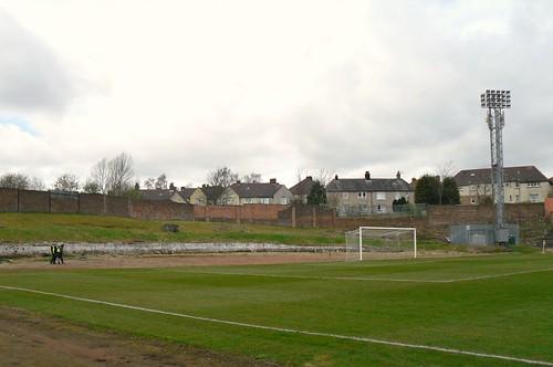 West end, Cliftonhill Stadium, Coatbridge.