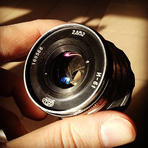 Industar 61 #lens