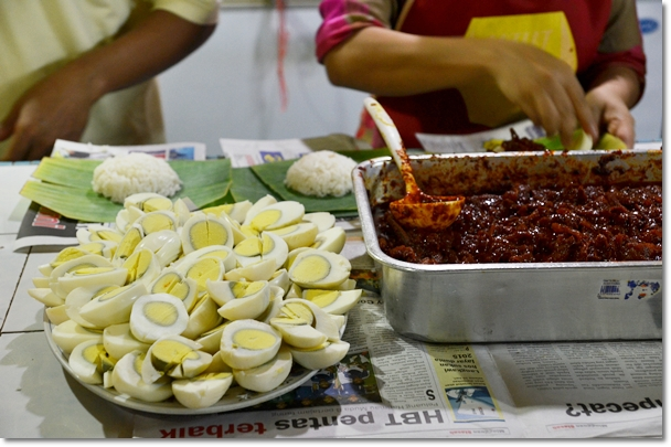 Hard-Boiled Eggs & Sambal