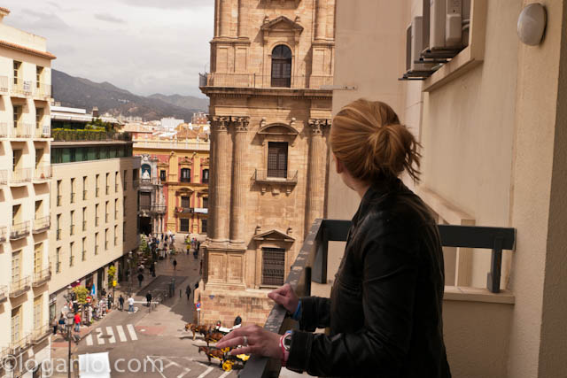 Overlooking Malaga, Spain