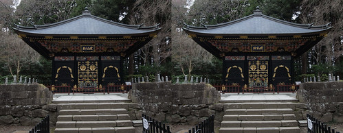 Kansenden, stereo parallel view