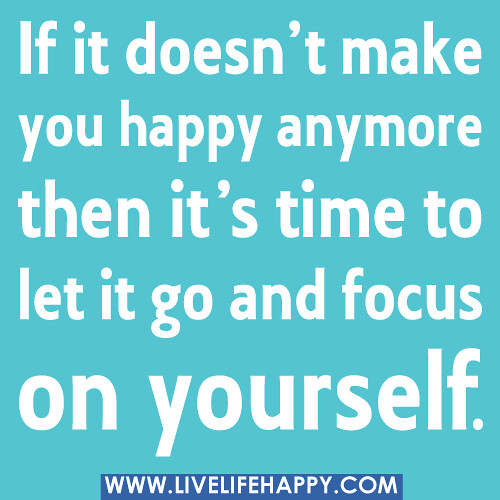 how to create a hapy life for yourself