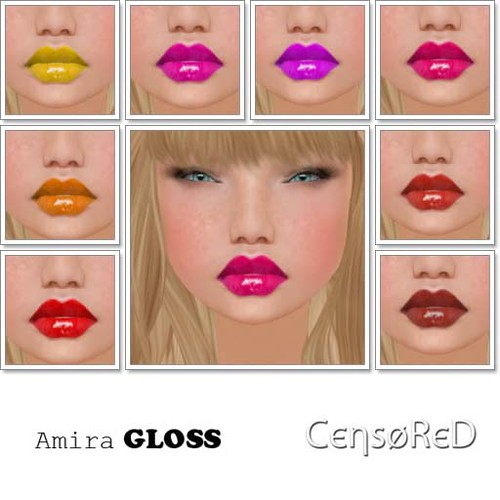 CENSORED Amira Gloss by Cherokeeh Asteria