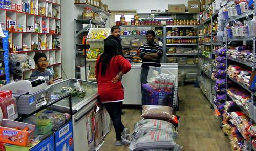 Indiase winkel Spice World in Rotterdam