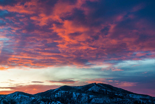 Steamboat Sunset