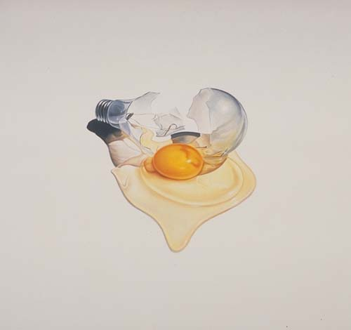 Ron English, The Egg and The Idea