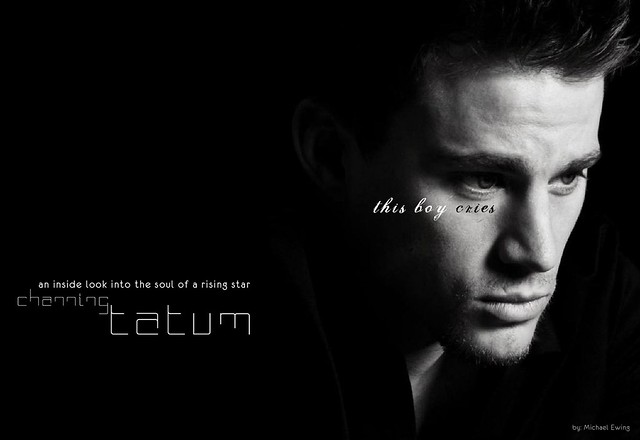 412ink - Channing Tatum magazine Spread