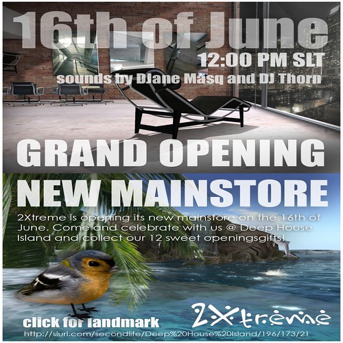 2XTREME OPENING MAINSTORE TODAY !! 12PM ! by mimi.juneau *Mimi's Choice*