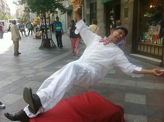 Madrid Street Performer