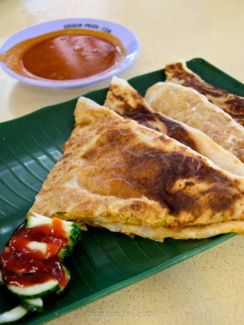 Singapore Hawker Food - Murtabak