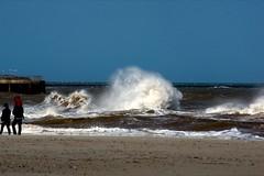 Waves at Gorleston Beach