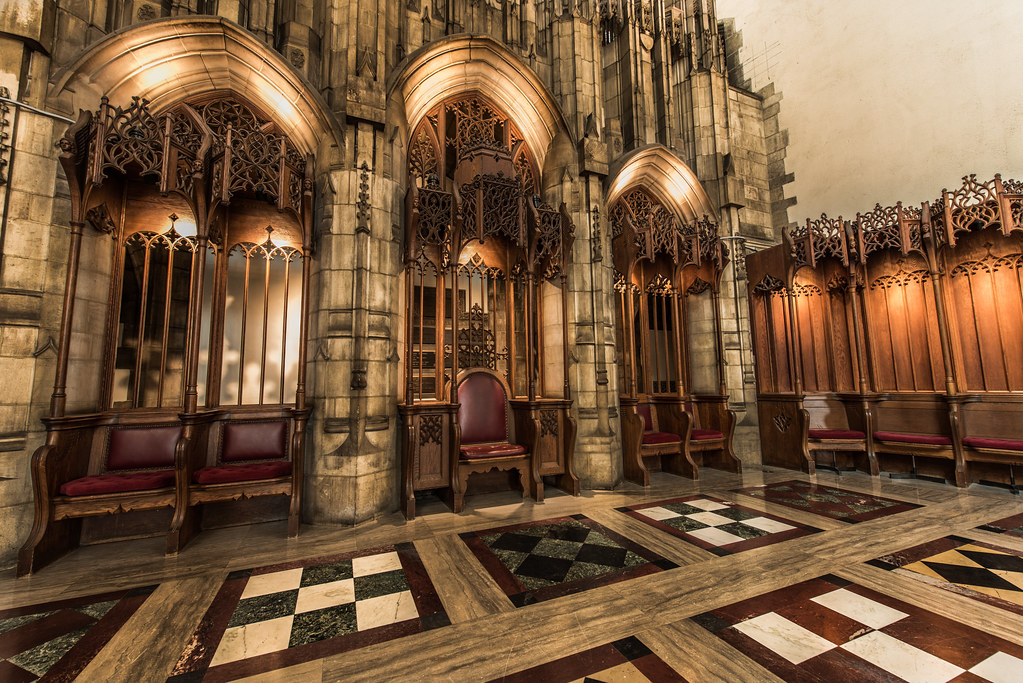 The Throne of Rockefeller Chapel