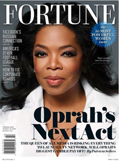 Oprah on the cover of Fortune