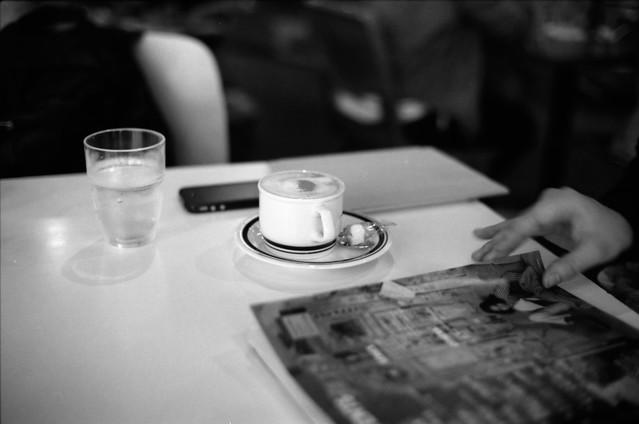 Shibuya, cafe