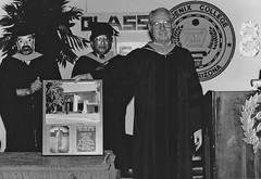 Phoenix College President Bill Berry, Graduation 1988