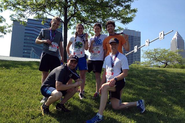 Half-Marathon Group Portrait 2