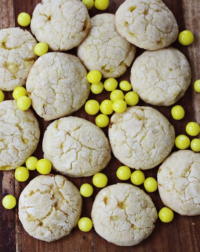 http://www.abeautifulmess.com/2013/05/lemonhead-cookies.html