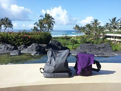D and C's anniversary trip to Kauai and the bags they took
