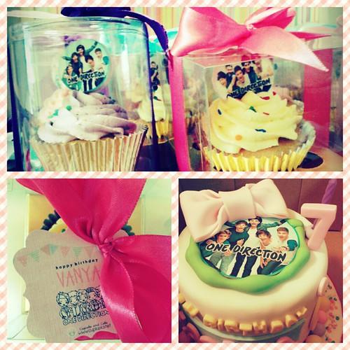 1D cake n cupcakes