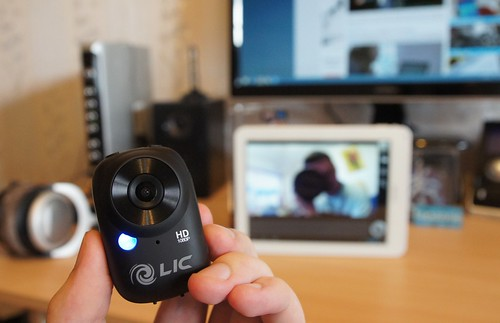 Liquid Image EGO   Full HD veiksmo kamera su WiFi