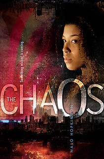 The Choas book cover with main character Scotch
