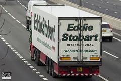 Scania R420 6x2 Tractor - PN11 WPF - Mia Anna - Eddie Stobart - M1 J10 Luton - Steven Gray - IMG_4934