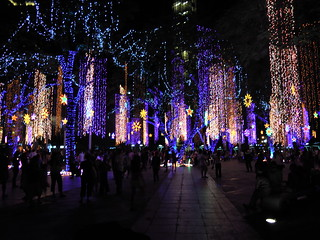 Christmas lighting Festival in Manila