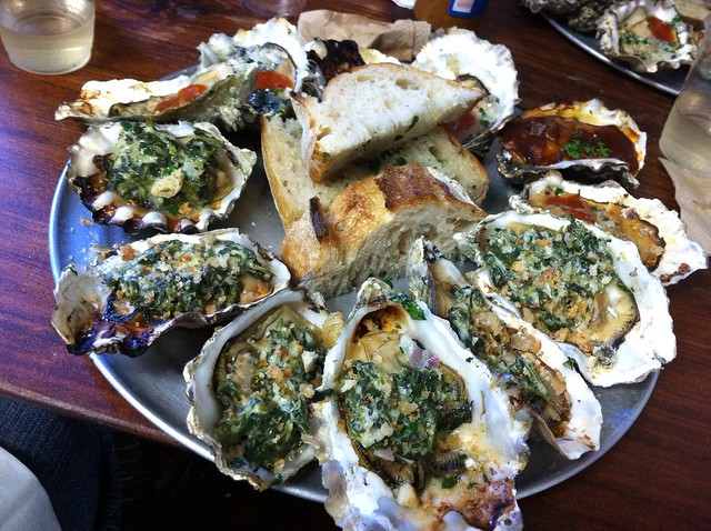 BBQ and Oyster Rockefeller