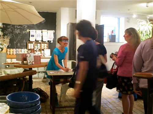 Anthropologie signing