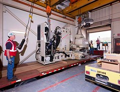 KCP relocates 18-ton machine