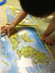 地図パズルで遊ぶ 2013/5