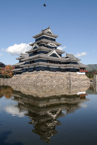 Matsumoto Castle reflections
