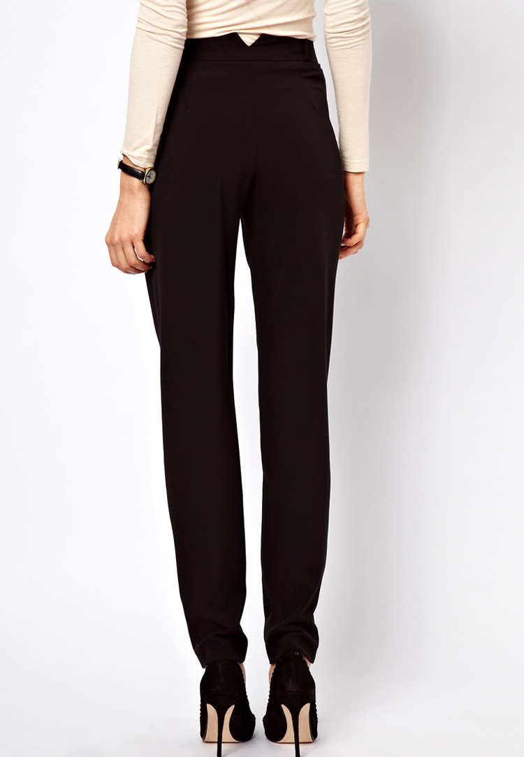 ASOS Trousers In Monochrome