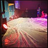 When the stage is covered in tarps, you know it's been a good night @campkidjam. #kidmin