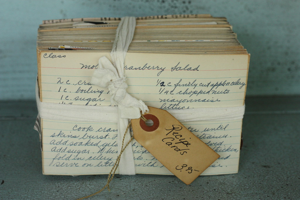 Vintage recipe cards lead to heartwarming food blogging story after she got the cards home and began examining them she found that many of them were inscribed with the name clara shenefelt forumfinder Images