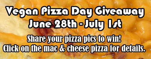 2013 Vegan Pizza Day Banner