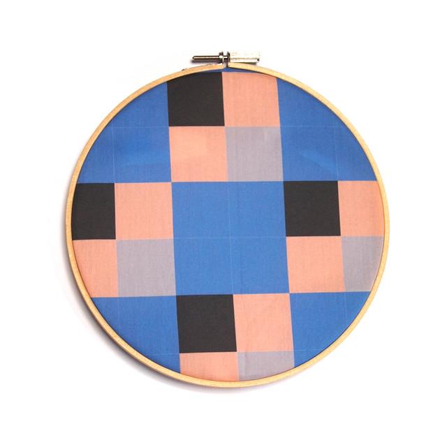 tiles - blue, beige, black, grey