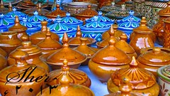 Tradtional pottery work