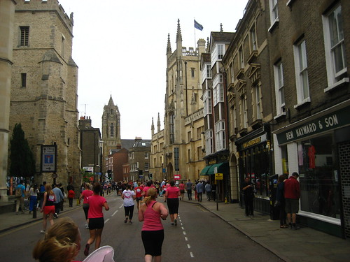 Running through Cambridge