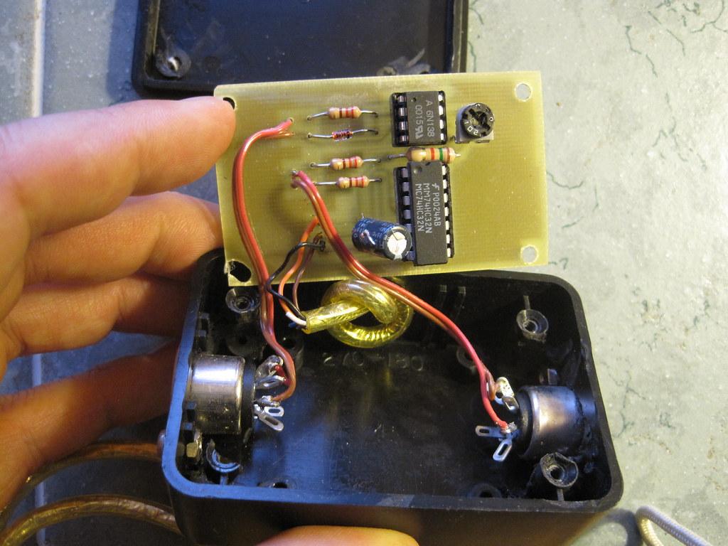 Pushpin MIDI PCB, Component Side