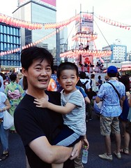 恵比寿駅前盆踊り 2013/7