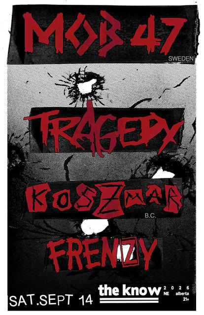9/14/13 Mob47/Tragedy/Koszmar/Frenzy