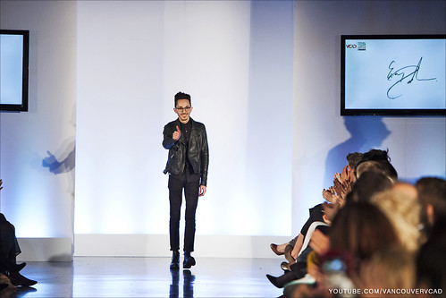 Eco Fashion Week Day 3 Evan Ducharme Fashion Collection Belladonna - Thumbs Up