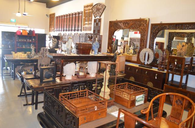 Red house carved furniture antique furniture for Oriental furniture singapore