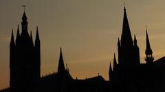 Ypres, Cloth Hall sunset