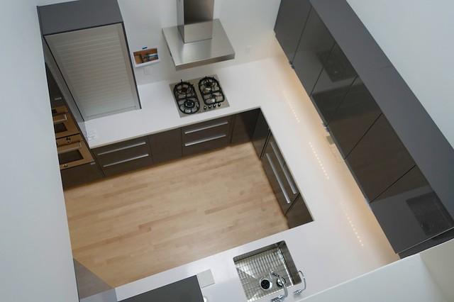 Ikea Abstrakt White Gloss Kitchen