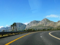 The Hottentots Holland mountains