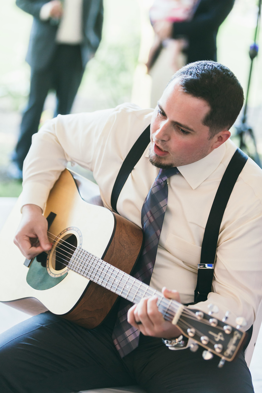 Tim Playing Guitar