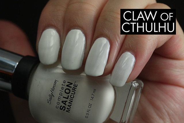 Sally Hansen Complete Salon Manicure White Out Swatch