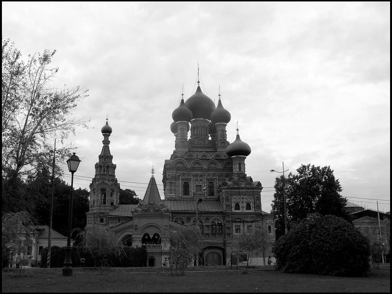 Храм Живоначальной Троицы В Останкино